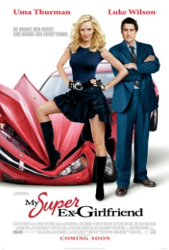 My Super Ex-Girlfriend - DVD cover