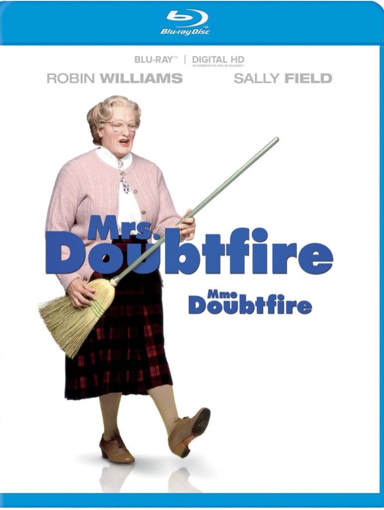 Mrs. Doubtfire -  cover