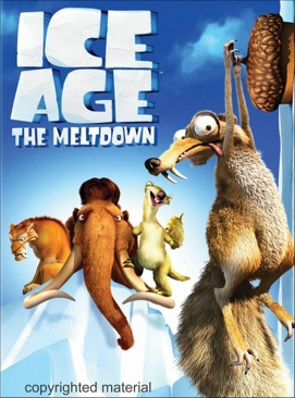 Ice Age 2: The Meltdown - Laser Disc cover
