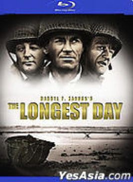 The Longest Day - Blu-ray cover