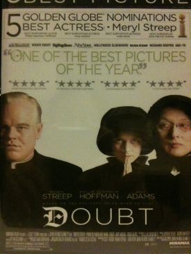 Doubt - DVD-R cover