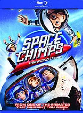 Space Chimps - Blu-ray cover