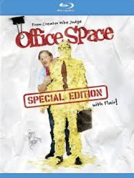 Office Space - Blu-ray cover