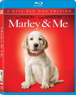 Marley & Me - Blu-ray cover