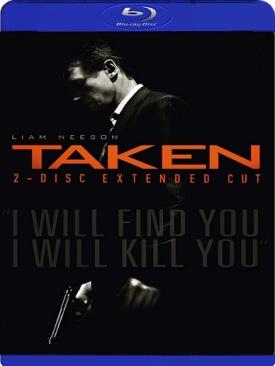 Taken - Video CD cover