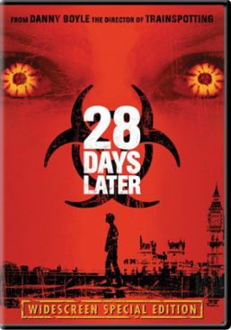 28 Days Later... - Video CD cover