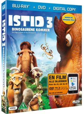 Ice Age: Dawn of the Dinosaurs - DVD cover