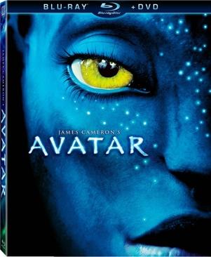 Avatar - HD DVD cover