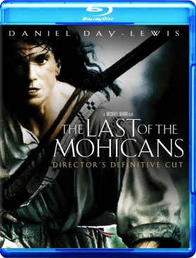 The Last Of The Mohicans - Blu-ray cover