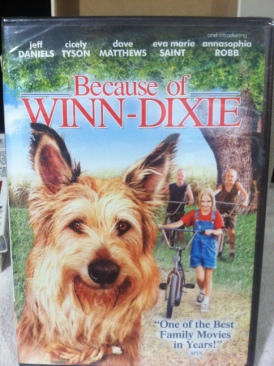 Because of Winn-Dixie - DVD cover