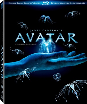 Avatar - 3-DISC Extended Collector's Edition  - Blu-ray cover
