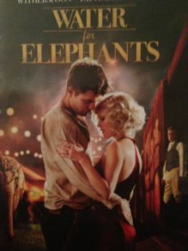 Water For Elephants - DVD cover