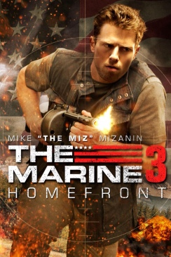 The Marine 3: Homefront - 4 Action Film Favorites - DVD cover