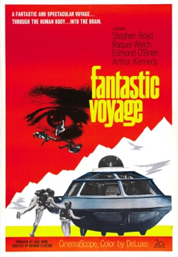 Fantastic Voyage - Blu-ray cover