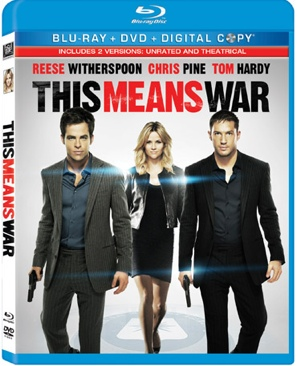 This Means War - Blu-ray cover