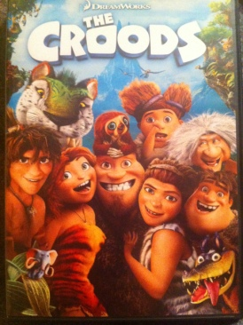 The Croods - DVD cover