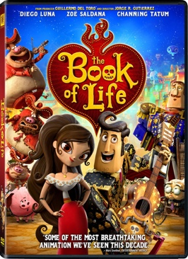 Book Of Life - DVD cover
