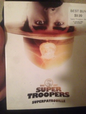 Super Troopers - Blu-ray cover