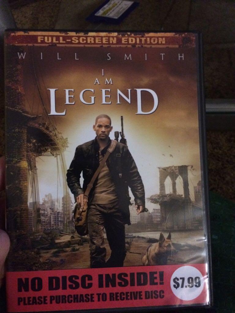 I Am Legend -  cover