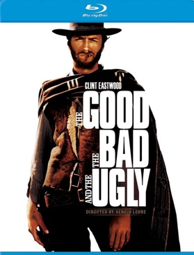 The Good, the Bad and the Ugly - DVD cover