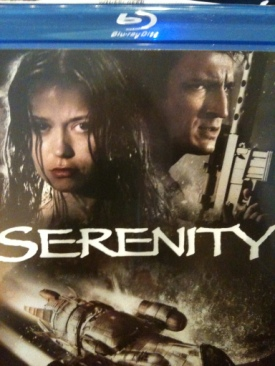 Serenity - DVD cover