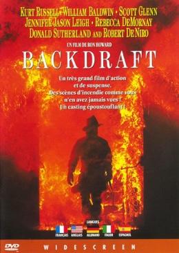 Backdraft -VUDU  - DVD cover
