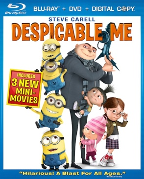 Despicable Me - Blu-ray cover