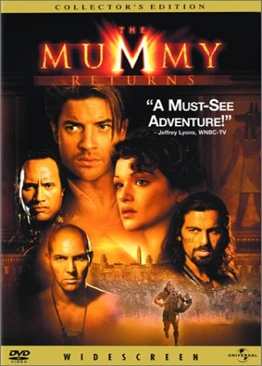 The Mummy Returns - DVD cover
