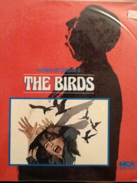 The Birds - Laser Disc cover