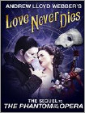 Love Never Dies - DVD cover