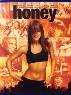 Honey - Blu-ray cover