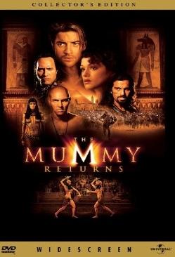 The Mummy Returns - DVD cover