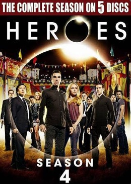 Heroes - HD DVD cover