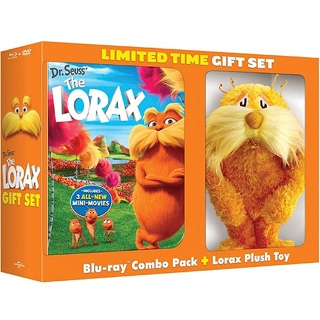 Dr. Seuss's The Lorax - Blu-ray cover
