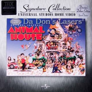 Animal House - Laser Disc cover