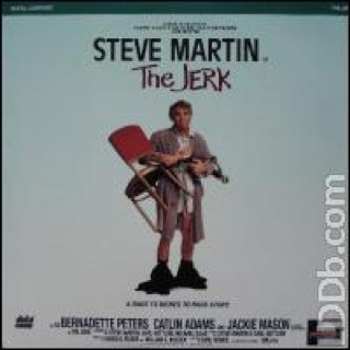 The Jerk - Laser Disc cover