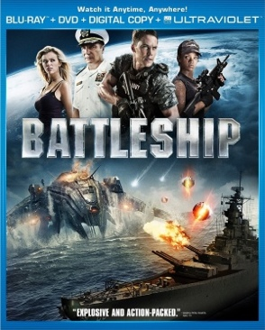 Battleship - Blu-ray cover