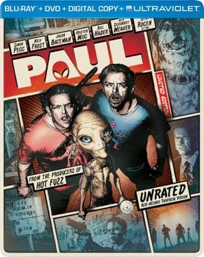 Paul - Blu-ray cover