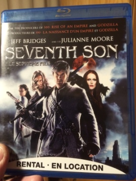 Seventh Son - Blu-ray cover