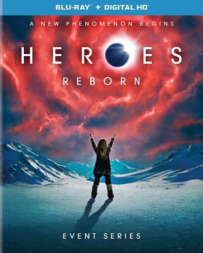 Heroes Reborn - UMD cover