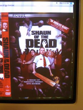 Shaun of the Dead - DVD-R cover