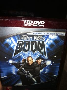 Doom - HD DVD cover