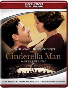 Cinderella Man - HD DVD cover