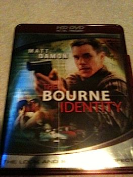 The Bourne Identity - HD DVD cover