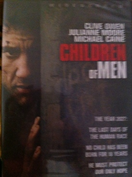 Children of Men - DVD-R cover