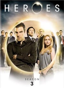 Series:  Heroes - DVD cover