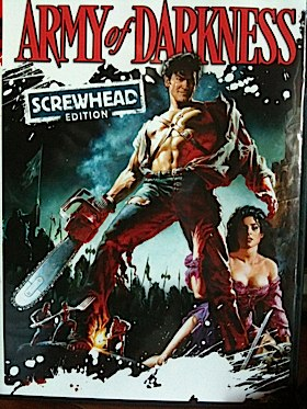 Army of Darkness - DVD cover
