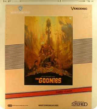 The Goonies - CED cover