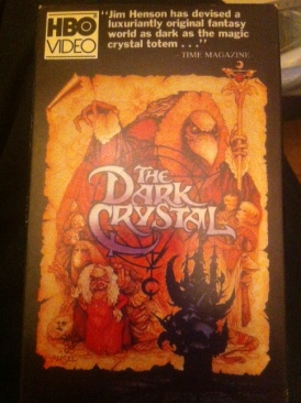 The Dark Crystal - VHS cover