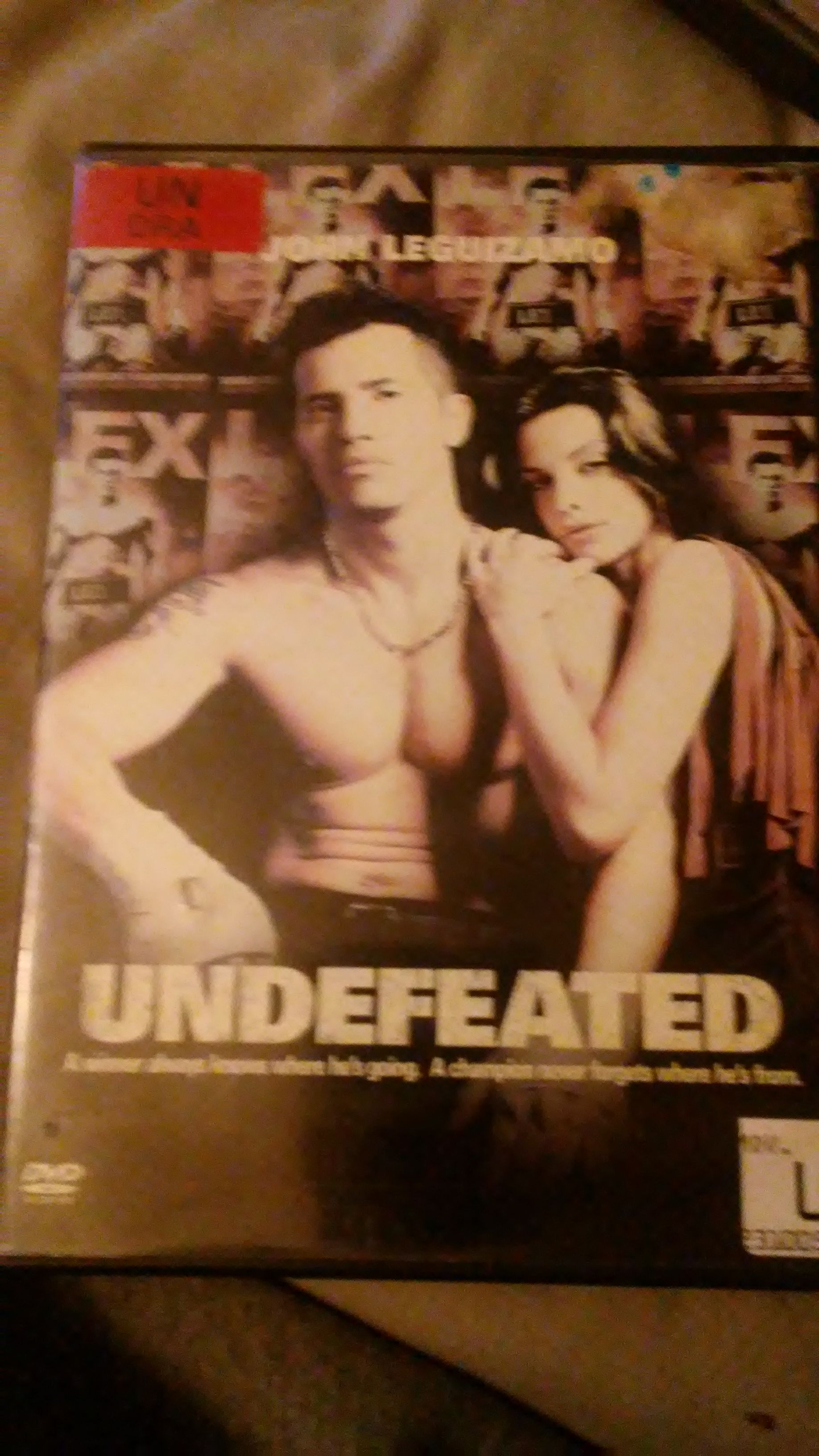 Undefeated -  cover